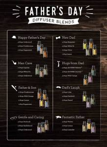 fathers day diffuser blends