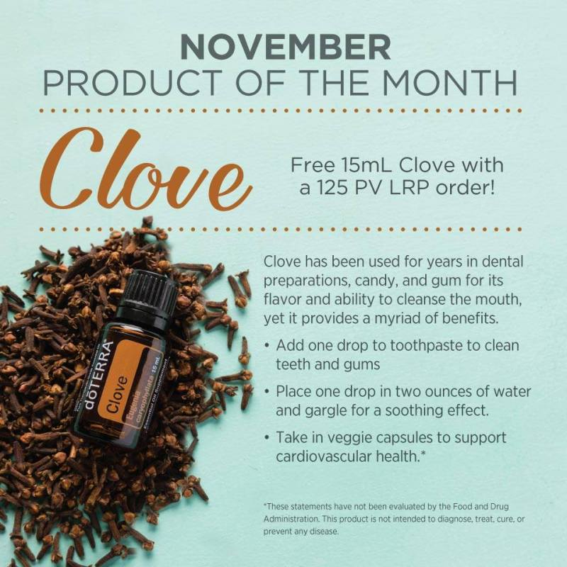 doterra november product of the month