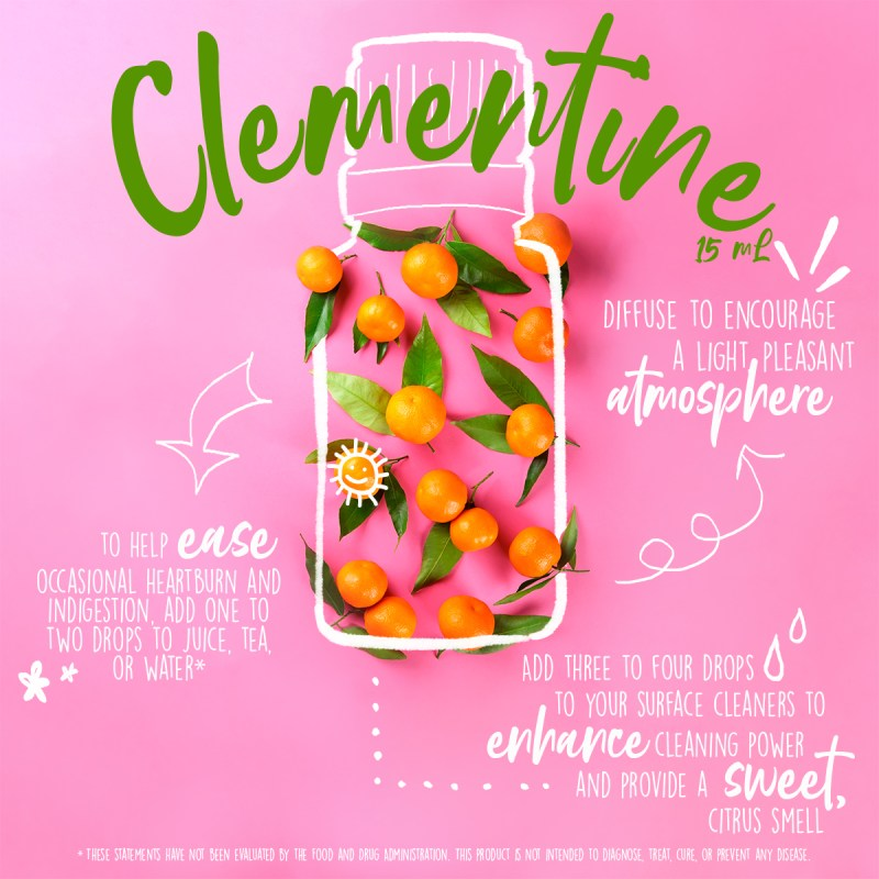 doterra clementine essential oil usage tips