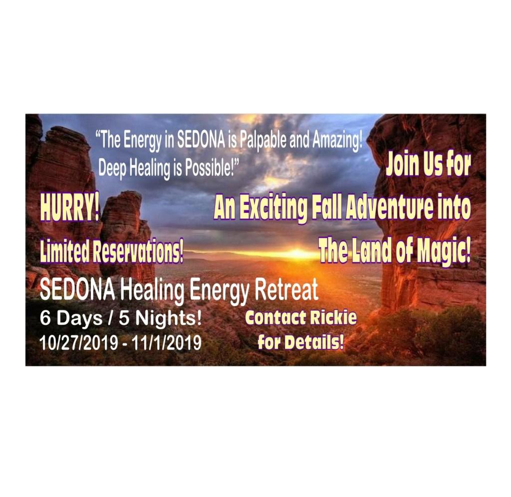 Sedona Healing Energy Retreat! With Rickie Freedman and