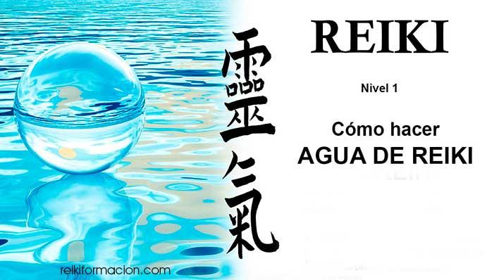 Reiki en el agua