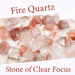 fire quartz spiritual properties