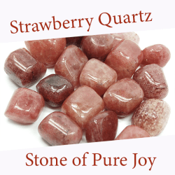 strawberry quartz spiritual properties