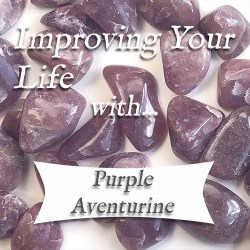 benefits of purple aventurine