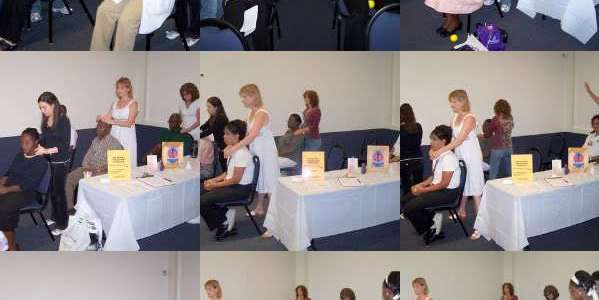 Reiki Share at Barry University Health Fair