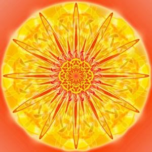 solar plexus mandala