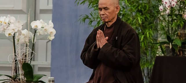 Thankful for Thich Nhat Hanh