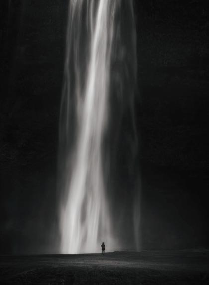 Seljalandsfoss Waterfall, Southern Iceland by Andy Lee