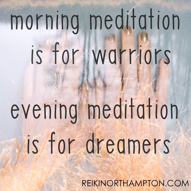 InstaQuotes morning meditation