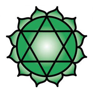 El símbolo del Chakra corazón