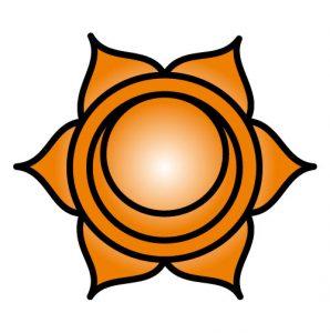 El símbolo del Chakra Sacro