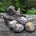 3 Mini White Sage Smudge Bundles