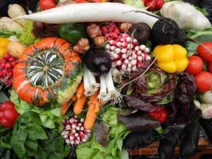 Harvest Vegetables, Flickr CC photo courtesy just_jeanette