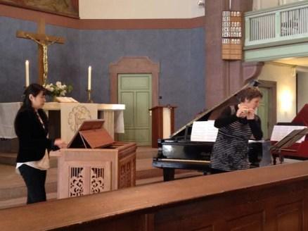 Konzert 20170423 in Auferstehungskirche Rüppurr