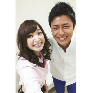 with Enami-san Fuji TV announcer