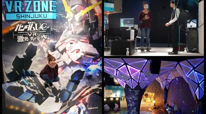 เที่ยวโตเกียว VR Zone Shinjuku เกมเซ็นเตอร์ ที่มีแต่ VR!!