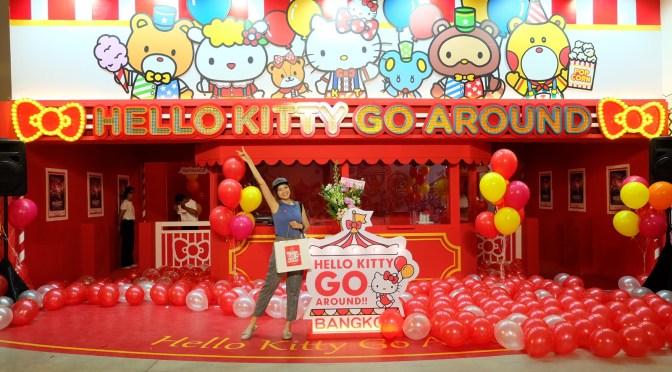 เที่ยวเมืองคิตตี้ที่กรุงเทพ!! Hello Kitty Go Around Bangkok