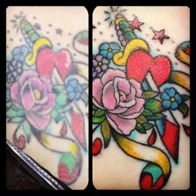 #restore #tattoo #oldtattoo #touchup #タトゥー #タッチアップ