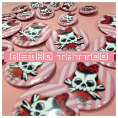 reiko tattoo can badge