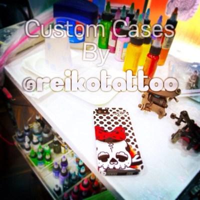 皆さんありがとうございます また入荷します!欲しい方は  mail@studiokeen.com へ #Cases #iphone #dokuro #ribbon #reikotattoo