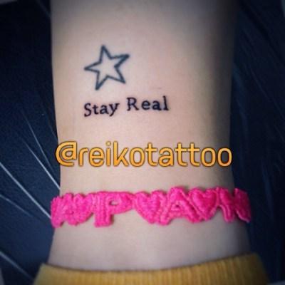 #StayReal #tattoo