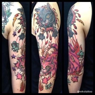 #cat #tattoo #猫 #タトゥー