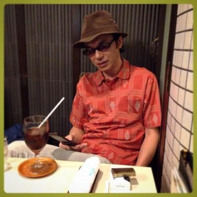 兄貴とお茶!お疲れ様でした! (๑•̀ㅁ•́ฅ✧#HirotomoHasegawa #kitomizukumirouber #Hasegawashizuo #aburadako #LivingLegend