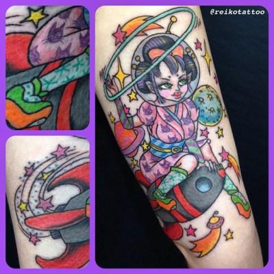#Harajyuku #Deco #Japanesegirl #space #rocket #fulahoop #kawaii #tattoo