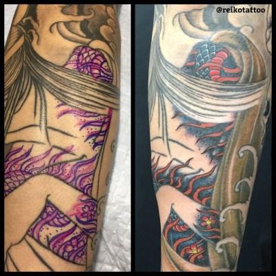 #Hannya #tattoo #般若 #タトゥー #reikotattoo #studiokeen #名古屋 #大須 #矢場町