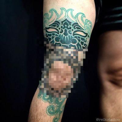 #monster #gargoyle #oni #tattoo #怪物 #ガーゴイル #オニ #みたいな感じ #タトゥー #reikotattoo #studiokeen #名古屋 #矢場町 #大須