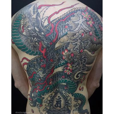 #龍 #刺青 #タトゥー #dragon #irezumi #tattoo #reikotattoo #studiokeen #japan #nagoyatattoo #tokyotattoo #名古屋 #東京 #静岡 #矢場町 #大須