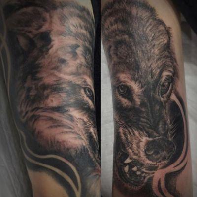 #オオカミ #wolf ...#tattoo #reikotattoo #studiokeen #japan #nagoyatattoo #tokyotattoo #irezumi #タトゥー #刺青 #名古屋 #大須 #矢場町 #東京 #静岡 #hocuspocustattoo #shizuokatattoo