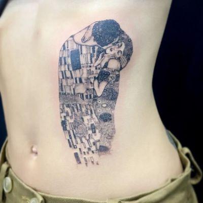#クリムト接吻 #グスタフクリムト #接吻 #klimt #GustavKlimt #thekiss ...#tattoo #reikotattoo #studiokeen #japan #nagoyatattoo #tokyotattoo #irezumi #タトゥー #刺青 #名古屋 #大須 #矢場町 #東京