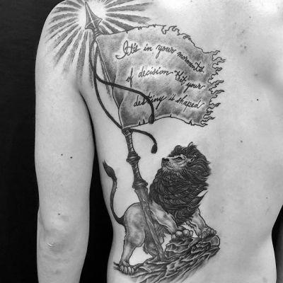 #lion #ライオン ...#tattoo #reikotattoo #studiokeen #japan #nagoyatattoo #tokyotattoo #irezumi #タトゥー #刺青 #名古屋 #大須 #矢場町 #東京