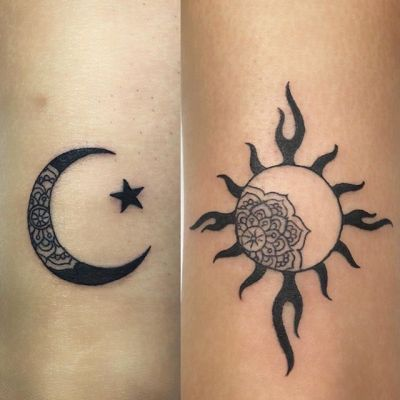 #sunandmoon #coupletattoo #太陽と月 #ペアタトゥー ...#tattoo #reikotattoo #studiokeen #japan #nagoyatattoo #tokyotattoo #irezumi #タトゥー #刺青 #名古屋 #大須 #矢場町 #東京