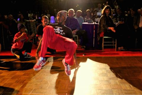 "BBoy Edwin ""Blakk"" Johnson © Jarrel Phillips"