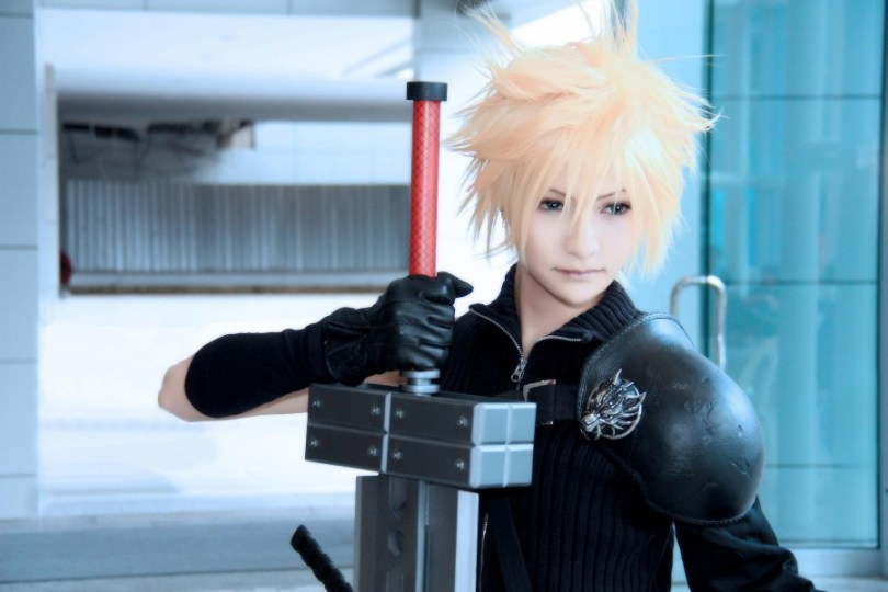 Karael as Cloud Strife from Final Fantasy 7