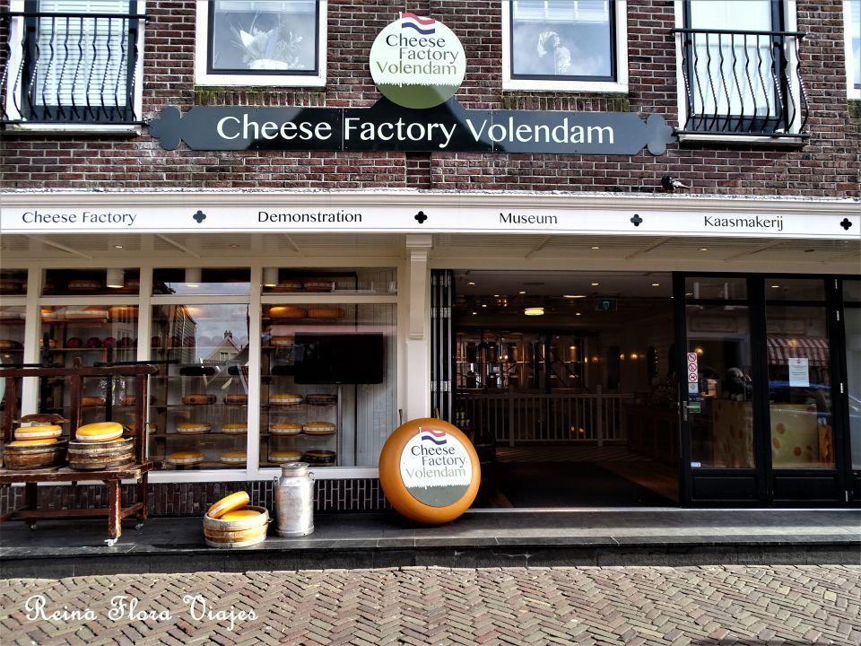 Tienda de quesos Volendam