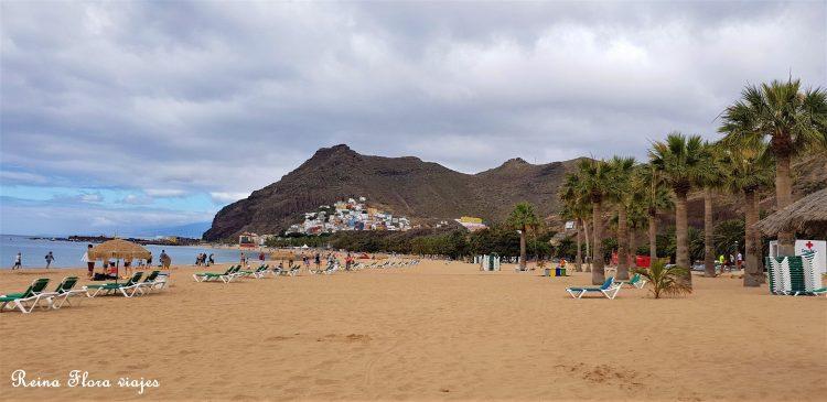 Playa Teresitas Santa Cruz