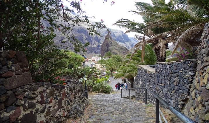 El caserío de Masca en Tenerife