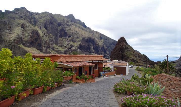 Edificaciones de Masca en Tenerife