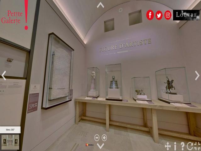 Exposiciones virtuales del museo del Louvre