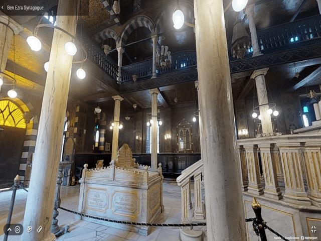 Imagen en 3D de la Sinagoga de Ben Ezra