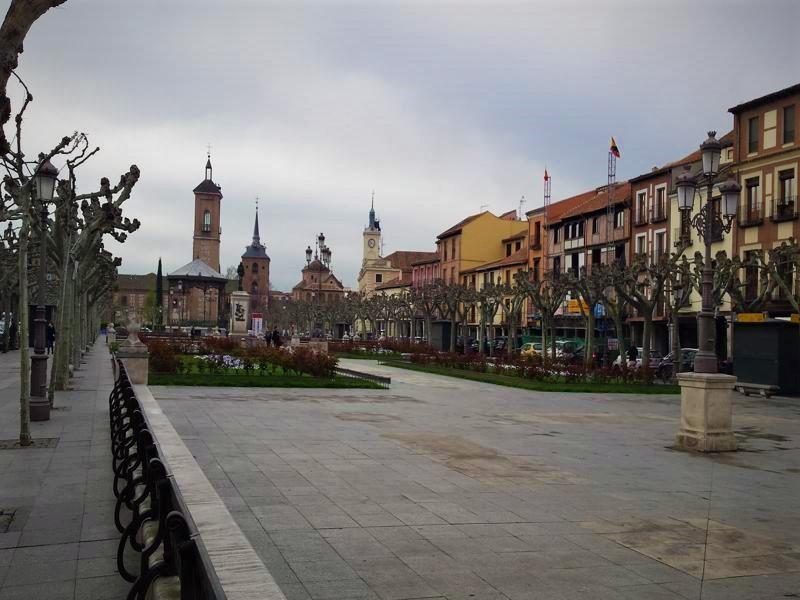 Alcalá de Henares alrededores de Madrid