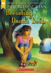 Becoming Naomi Leon Book Cover