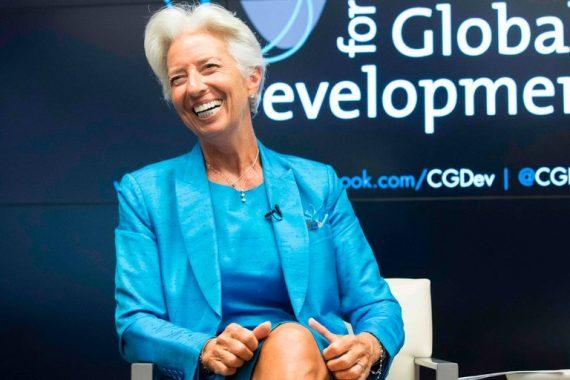 Christine Lagarde siège FMI Pékin