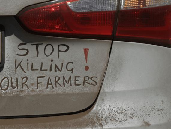Australie fermiers sud africains menacés visas