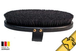 horsehaus horse brush made in germany black finishing