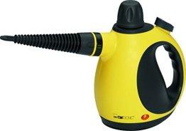 Clatronic DR 3653 Dampfreiniger inkl. 9-teiligem Zubehör, extra 5 m langes Kabel -