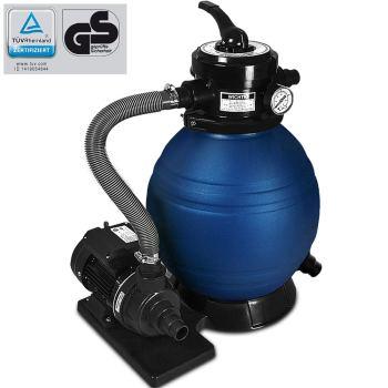 Sandfilteranlage für 20000 Liter